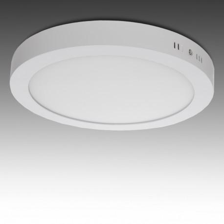 Plafón LED Superficie 18W Blanco