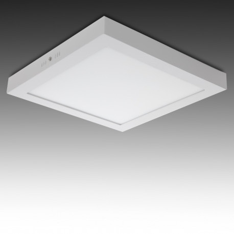 Plafón LED Superficie 24W Blanco