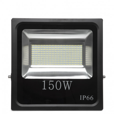 Led Projektør 150W SMD Sort