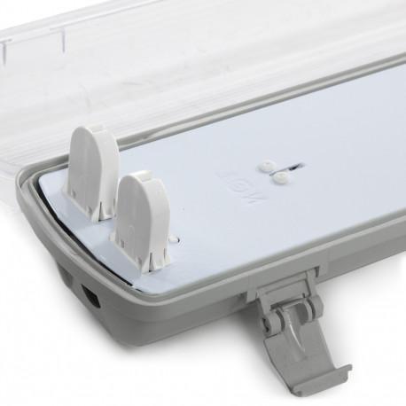 Ūdensnecaurlaidīgs Gaismeklis 2x18W Elektroniska