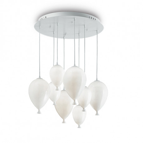 [I-L-100883] Lámpara Suspendida CLOWN G9 8 Luces (Con Bombilla)