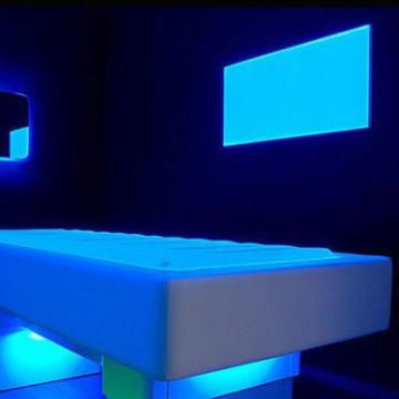 LED Slimline Downlights Taisnstūrveida RGB 595X595Mm 32W 24VDC Draiveri/Kontrolieris Centrālāizēta
