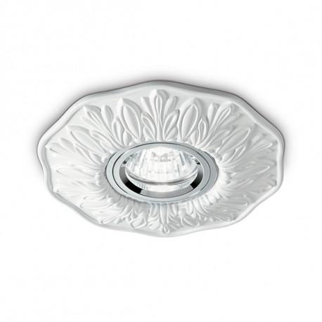 [I-L-115597] Luminaria Empotrada POLKA GU10 1 Luz (Sin Bombilla)