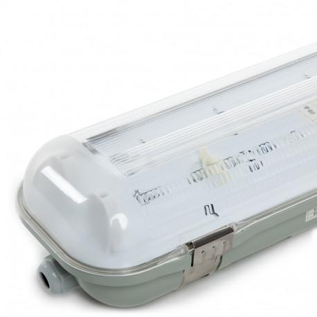Equipo Estanco 2x9W Tubo LED 655mm 1 Extremo