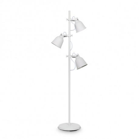 I L 199528 Floor Lamp Maurien E27 3 Lights Without Bulbs