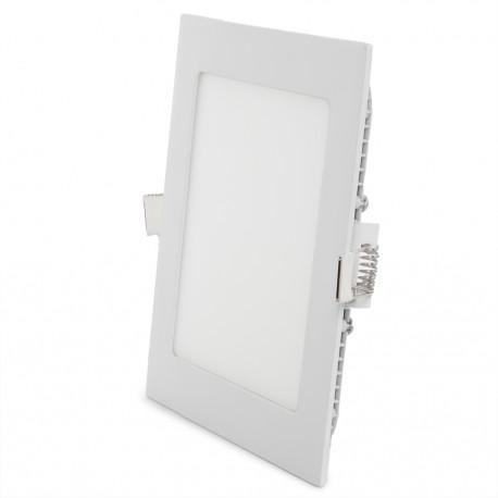 Placa de LEDs Cuadrada 12W Blanco