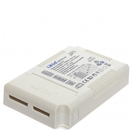 Driver LIFUD 38-42W AC220-240V 3 en 1 DIM (0-10V/PWM/RX) Flicker Free + DIP