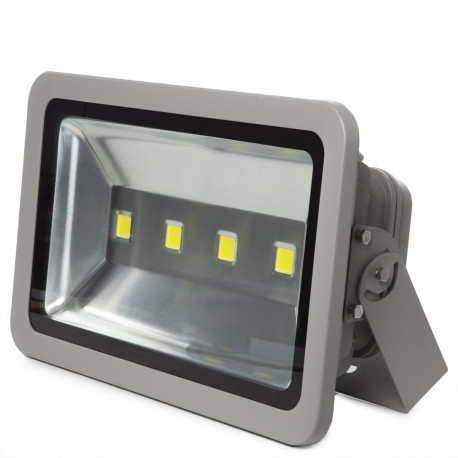 Foco Proyector LED 200W Gris