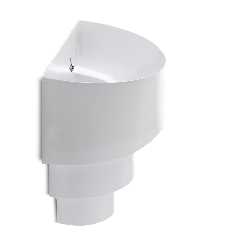Aplique E27 Blanco (Sin Lámpara) Lillian [HO-E27WALLLIGHT-E-W]