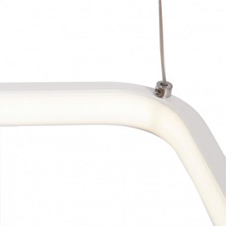 Hanging Lamp LED Square 36W 2900Lm 30.000H Sloane
