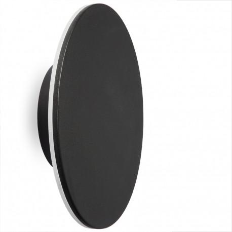Aplique Luna 8W 150mm Negro