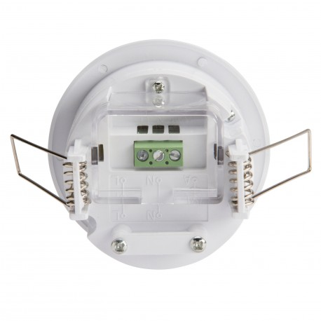 Detector de Presencia para Empotrar 360º hasta 1200W Incandescencia/300W Fluorescencia