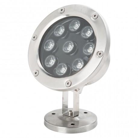 Foco de LEDs 9 x 1W Sumergible IP68
