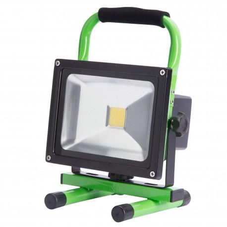 Proyector de LEDs para Exterior 20W con Batería Recargable