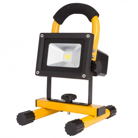LED Floodlight IP65 Battery Rechargeable 10W 1000Lm 30.000H