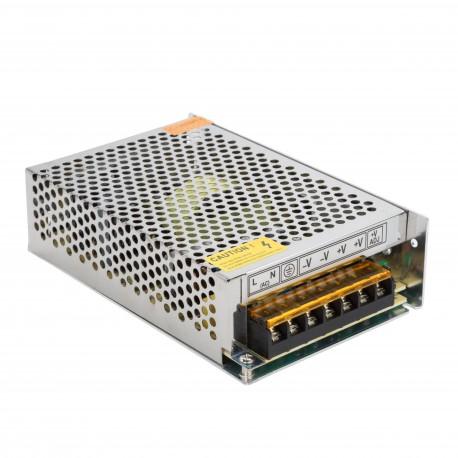 Transformador para Tiras de LEDs 12VDC 120W/10A IP25 Interior