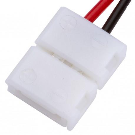Conector para Tira de LEDs 12VDC SMD3528 2 Vías Simple