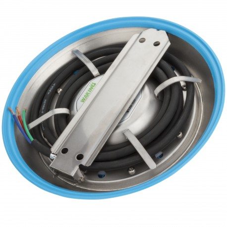 Foco de Piscina de LEDs Montaje Superficie Ø230mm 9W Multicolor con Mando