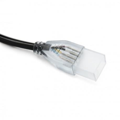 Controlador Tira de LEDs RGB 220VAC con Mando a Distancia Controla hasta 100M de Tira