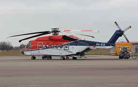 CHC brengt eerste S-92A in het NL-register