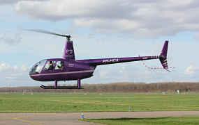 Knappe helikopterfoto's