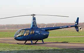 Allereerste Robinson R66 in Nederland