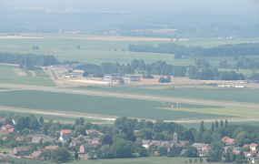 Vluchtje boven Beauvechain en omstreken