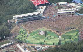 Een impressie van een internationaal muziekfestival