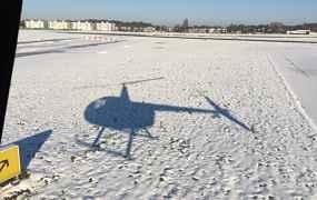 Super vliegdag in de sneeuw