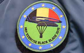 10e EDA oefening Black Blade in Belgie