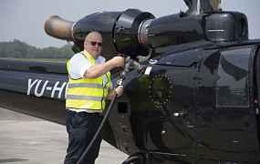 Peter Van Zutphen is Nederlandse enige Gazelle-piloot