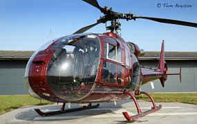 Er vliegt weer een nieuwe Gazelle in België