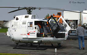 Helikopter controleert Fluxys gasleidingen met laser