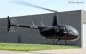 Nieuwe Robinson helikopter voor Paramount in Diest