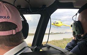 Making off: de fotoshoot met de nieuwe Bell 505 JetRanger