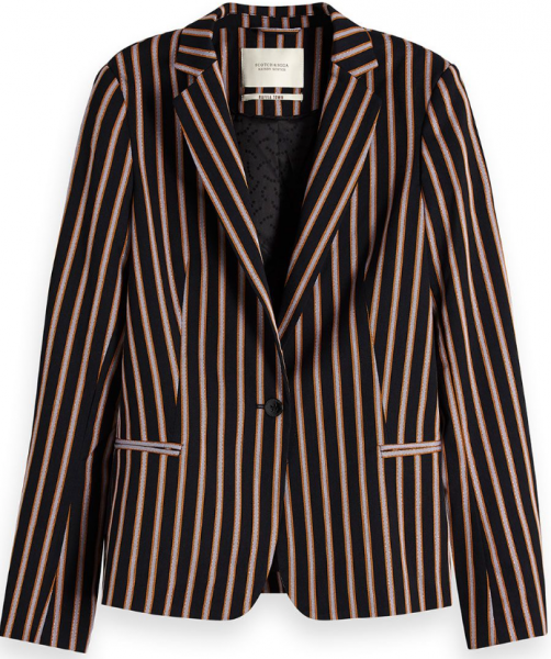 Classic striped blazer Maison Scotch