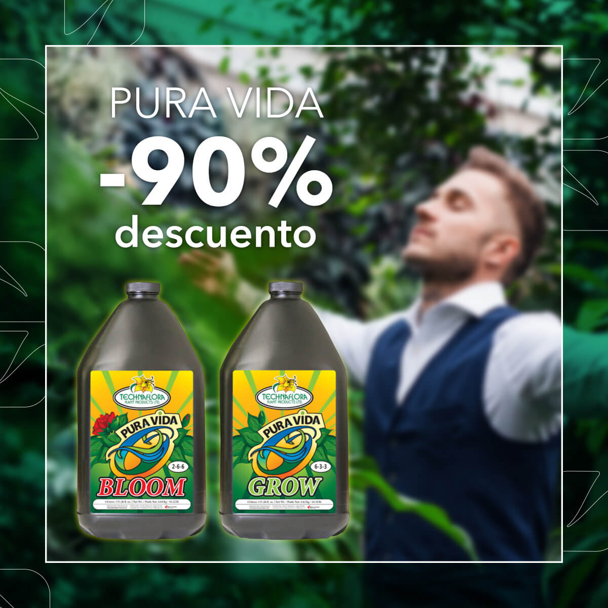 Promoción Pura Vida Bloom + Grow