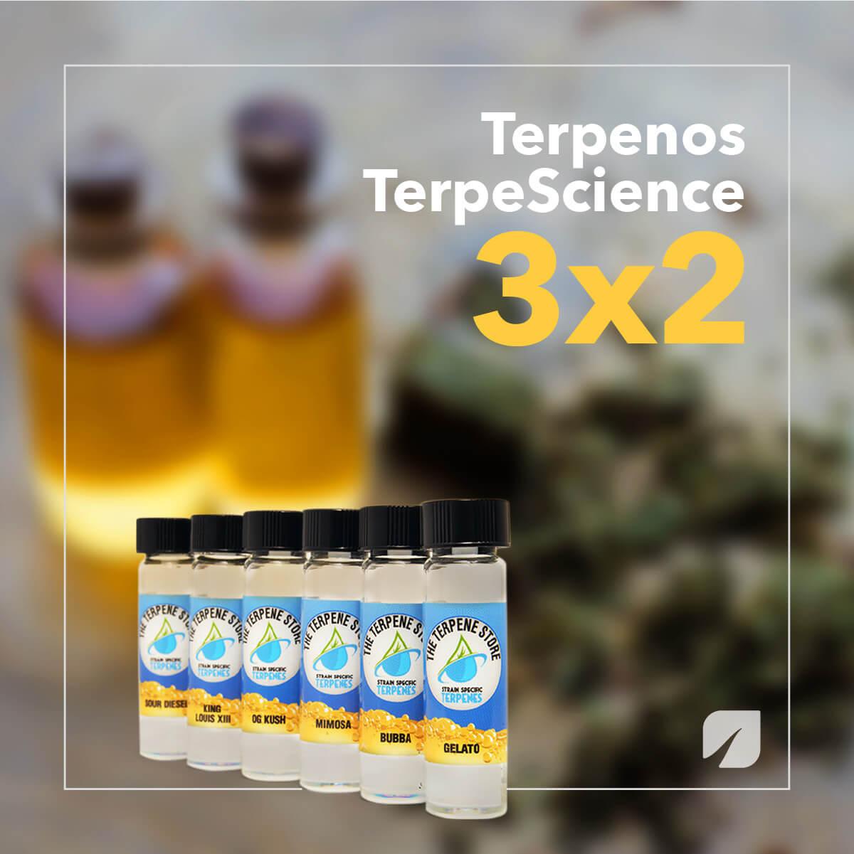 Promoción Terpenos TerpeScience 3x2