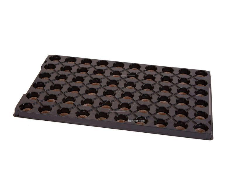 bandeja jiffy plastico 60 alveolos