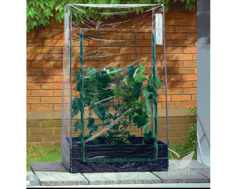 cubierta plastica para mini grow bed