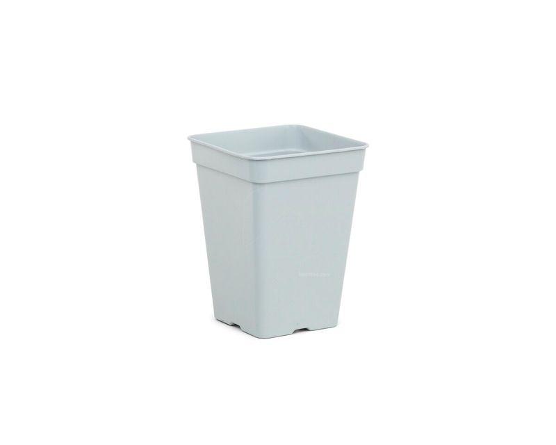 Maceta Cuadrada Blanca 18x18x25cm 30u 5,5l