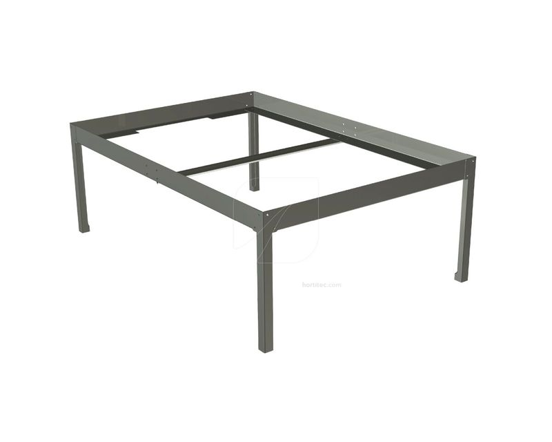 soporte mesa cultivo 1x1 negra