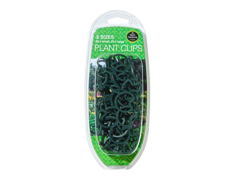 clips verdes 50u
