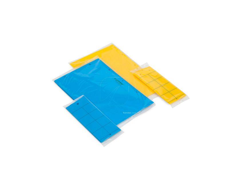 Trampas Adhesivas Azules y Amarillas
