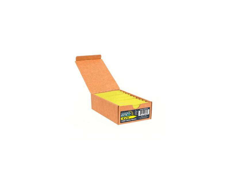 etiquetas amarilla