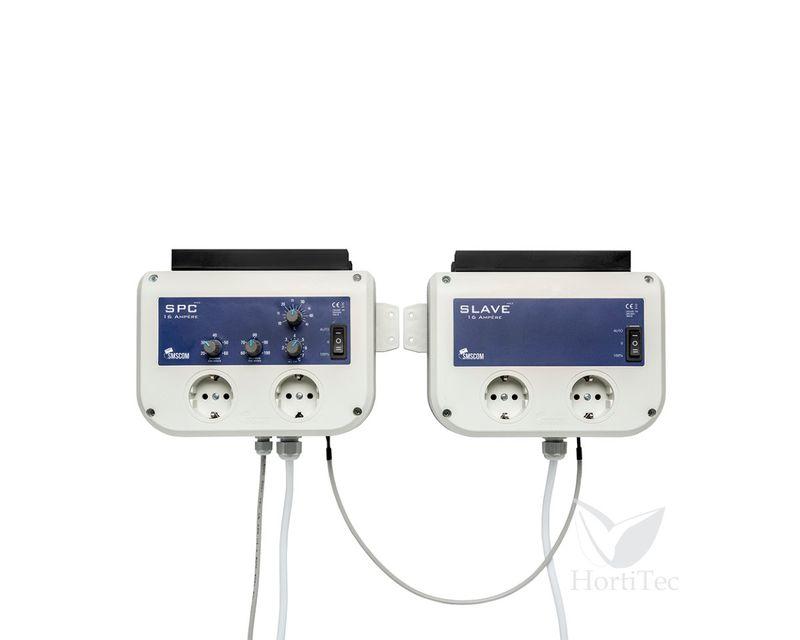 Controlador de temperatura 16A esclavo SMSCOM vista frontal
