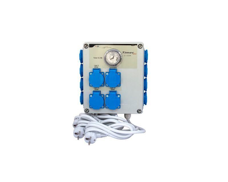 timer box ii 12x600W trifasico