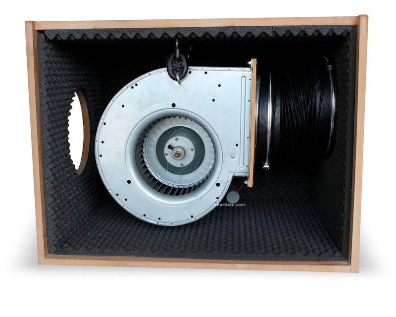 Caja Madera Softbox por dentro
