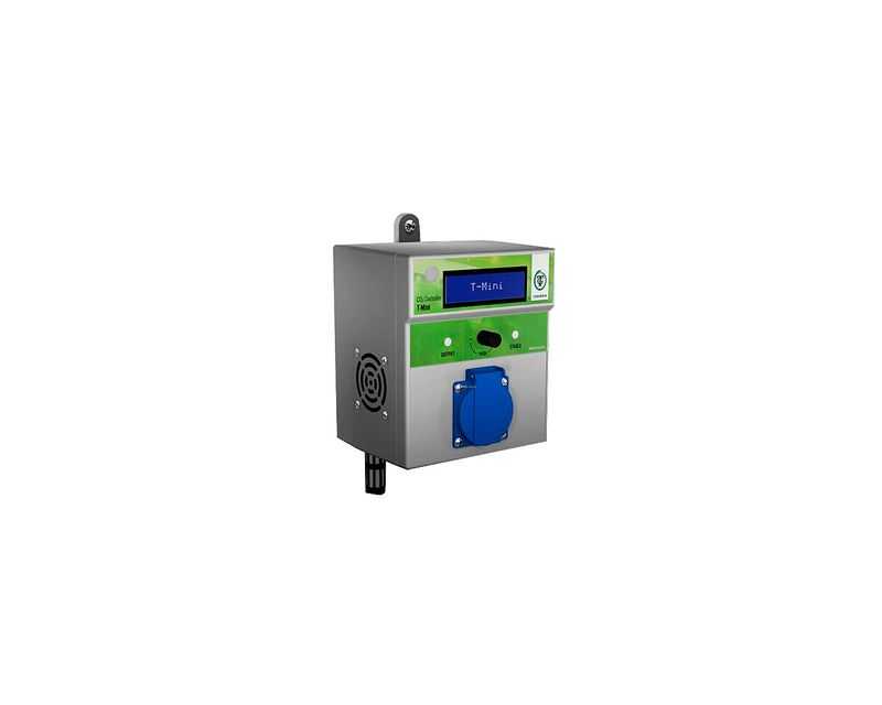 Controlador de CO2 T-mini Pro lateral
