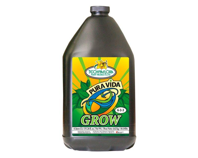 Pura Vida Grow 4L Technaflora